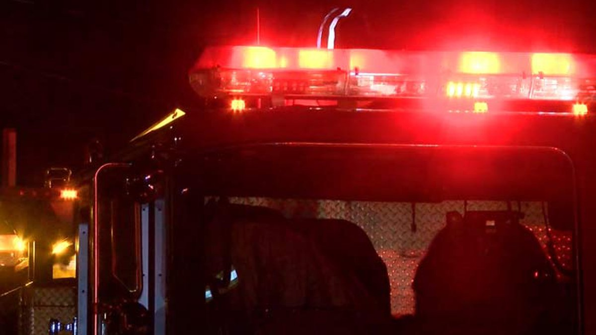 The North Charleston Fire Department says two people were transported to the hospital after...