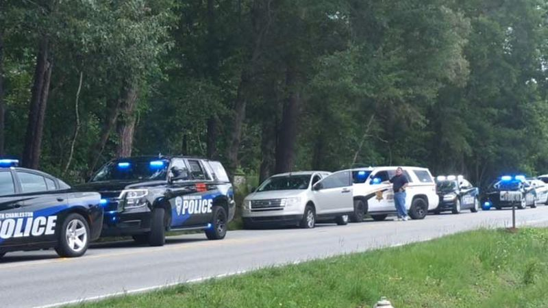 Drivers were reporting a large police presence in the Lincolnville area Tuesday morning.