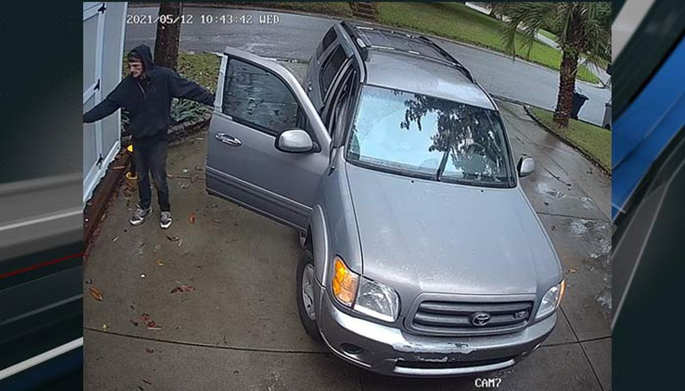 Deputies say this image, dated May 12, shows the vehicle the pair was traveling in.