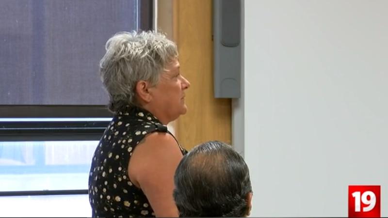 Darcy Spangler at her sentencing