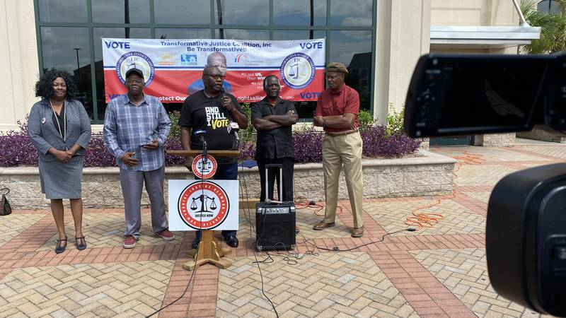 Voting rights advocates held a rally in North Charleston on Saturday calling for lawmakers to a...