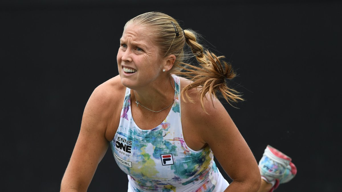 3rd seed and Lowcountry native Shelby Rogers was eliminated on Friday with a straight sets loss...