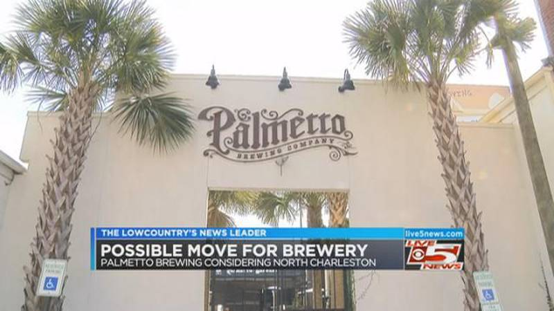 VIDEO: Palmetto Brewing considering move to North Charleston