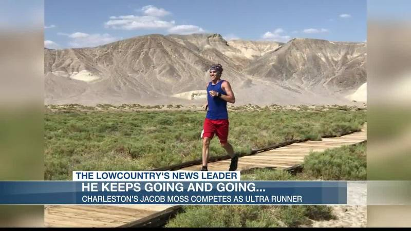 The Lowcountry's Jacob Moss is working for a spot on the national team as an Ultra Runner