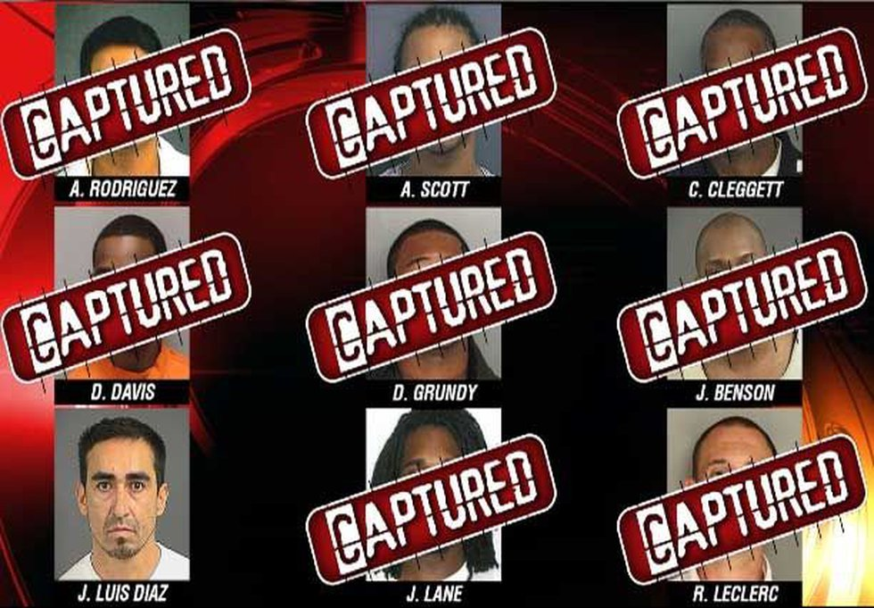 Live 5 Most Wanted Manhunt
