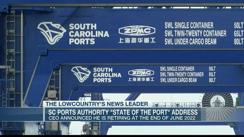 VIDEO: SC Port Authorities 'State of the Port' address