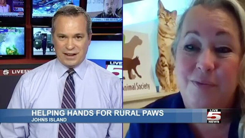 Charleston Animal Society Director of Community Engagement Kay Hyman says that many of the...