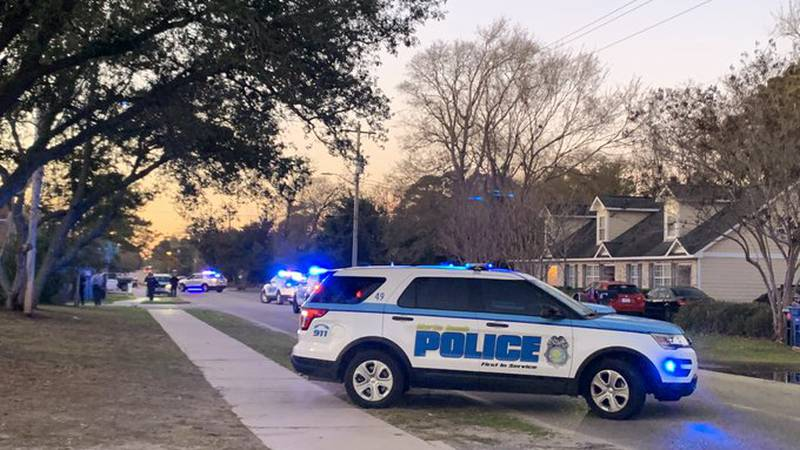 Police are on the scene after a reported shooting in a Myrtle Beach housing complex.