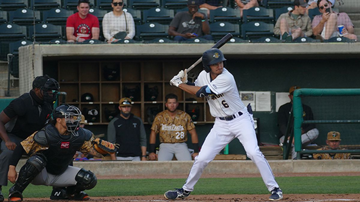 The RiverDogs lost their 1st extra innings game of 2021 falling to the Wood Ducks on Thursday