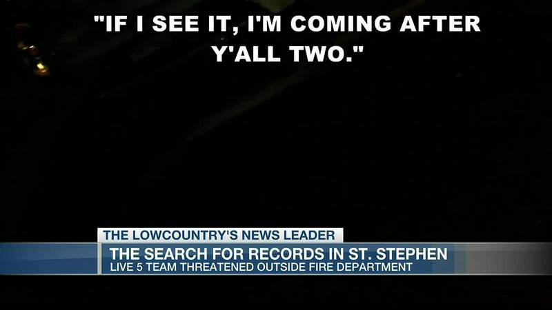 VIDEO: Live 5 News team threatened outside fire department
