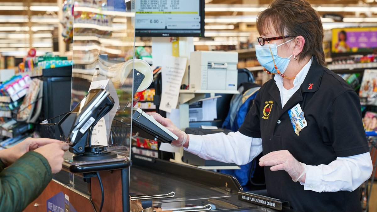 """Kroger announced it will provide special """"Thank You Pay"""" to hourly frontline, supply chain,..."""