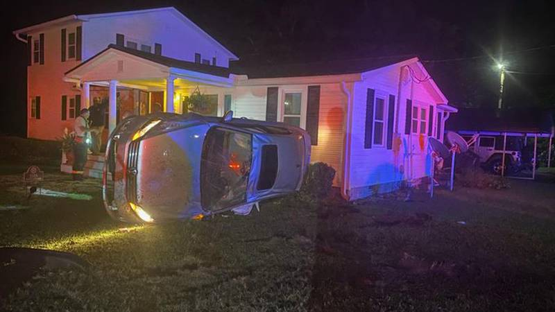 The Awendaw-McClellanville Fire District says one person was hurt in a crash in Huger early...