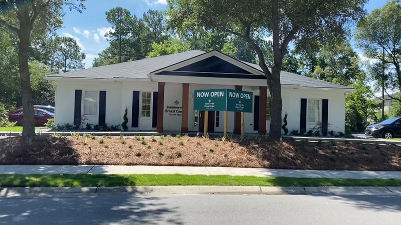 Officials say the new center offers services from initial mammograms and screenings, to breast...