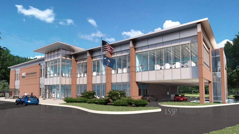 The new Emergency Operations Center will be built along Murray Drive, about one mile back from...