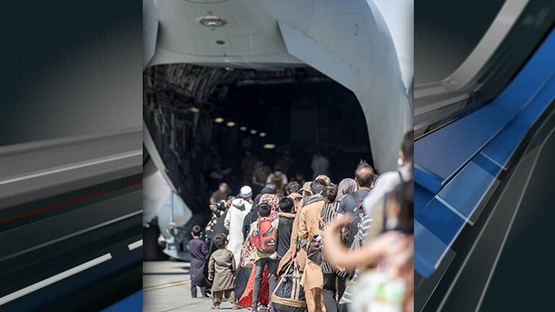 An aircrew from Joint Base Charleston helped deliver a baby aboard a Charleston C-17 carrying...