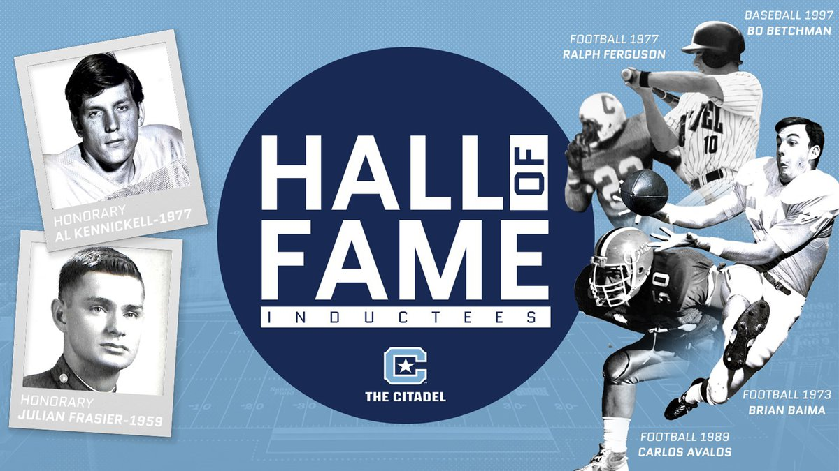 The Citadel announced their 2021 Hall of Fame class on Wednesday