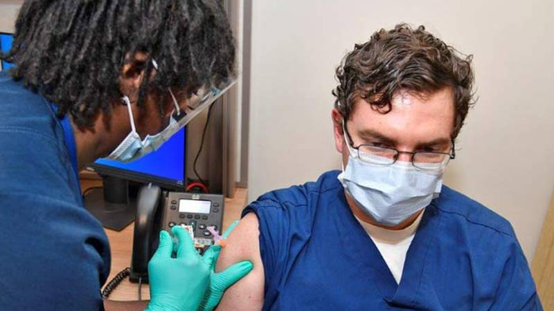 The Ralph H. Johnson VA Medical Center began vaccinating at-risk veterans and its staff members...