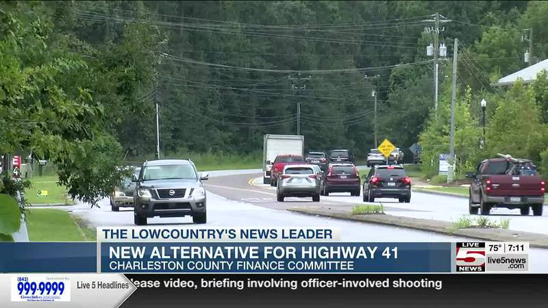 VIDEO: Charleston County announces new plan for Highway 41