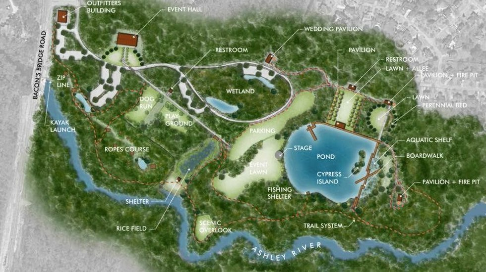 Ashley River Park plan (Source: Vote Yes to invest in our future parks and libraries)