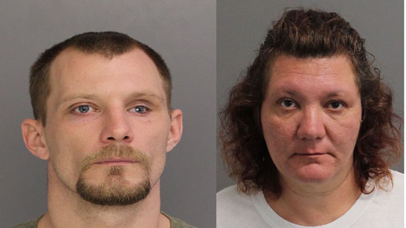 Joseph Benton (Left) and Rebecca Beard (Right) are charged with involuntary manslaughter