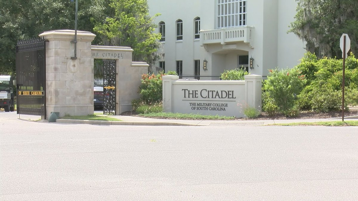 Officials with The Citadel say they are resuming classes early so that the semester can end...