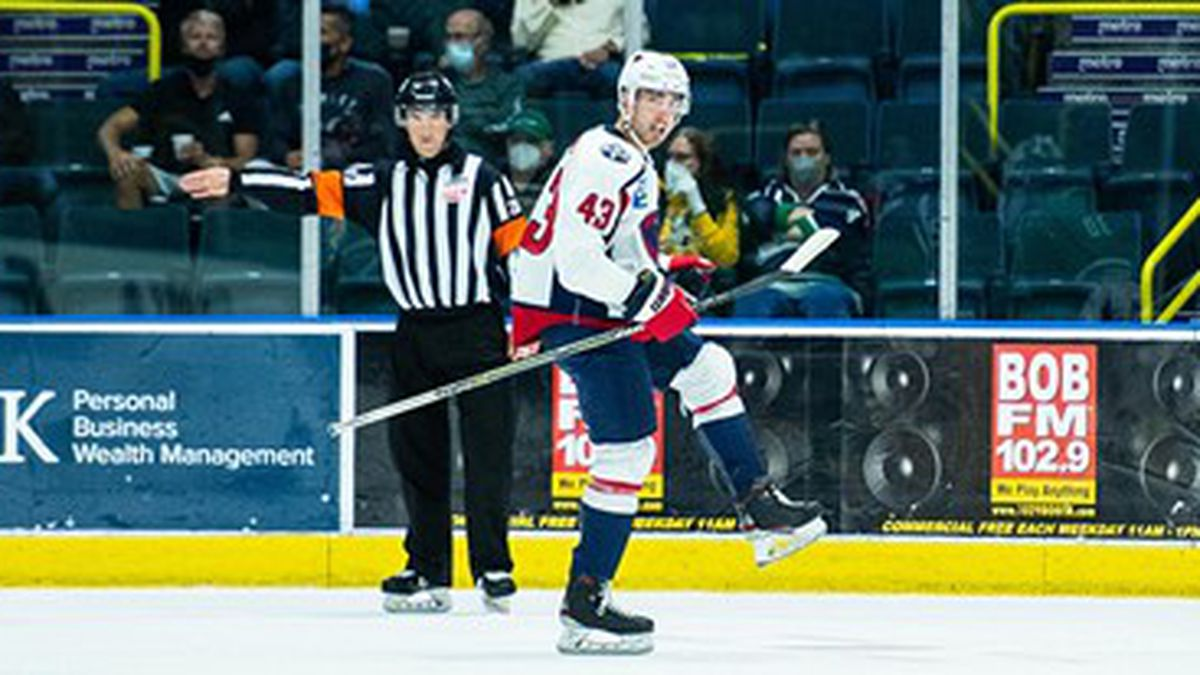 The Stingrays picked up a 3-2 win in overtime over Florida on Wednesday