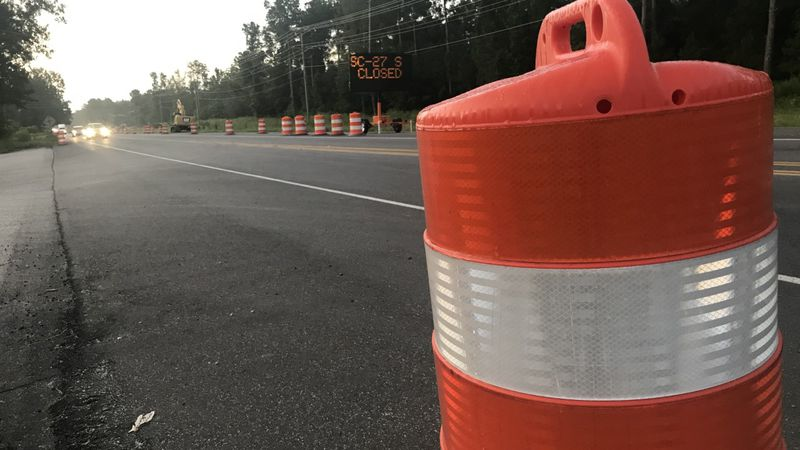 Weather permitting, construction crews say they are expected to close Highway 27 on Thursday...