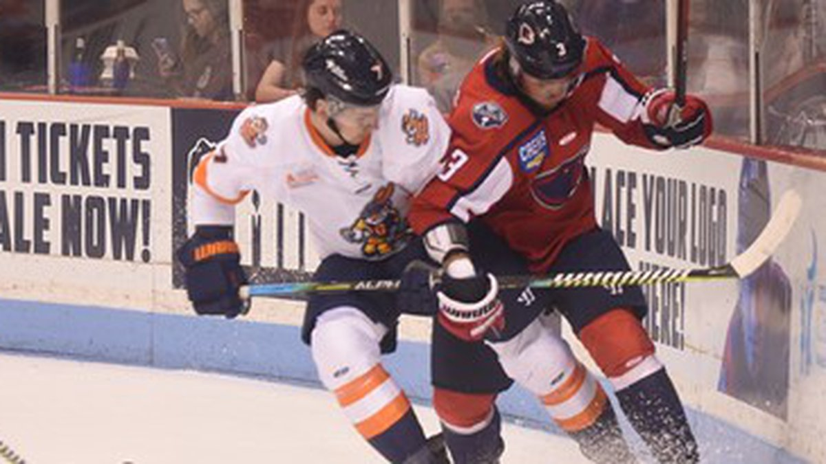 The Stingrays dropped a home game to Greenville on Friday, 4-2