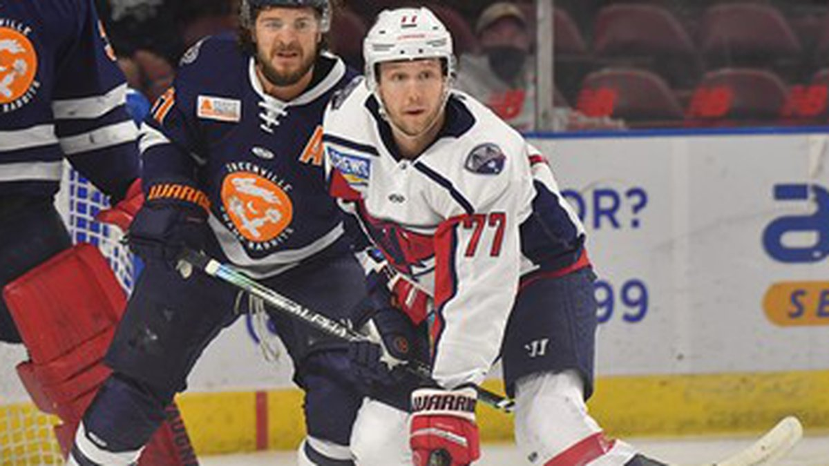 The Stingrays fell in a shootout to Greenville on Friday