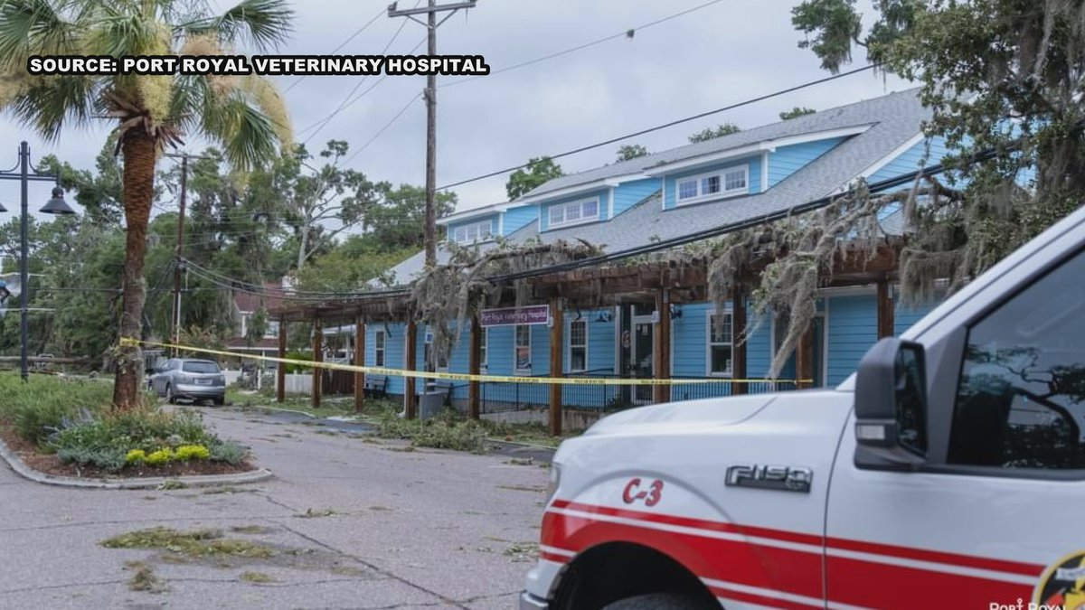 Port Royal Veterinary Hospital owner Dr. Marikay Campbell says they are also now facing the...