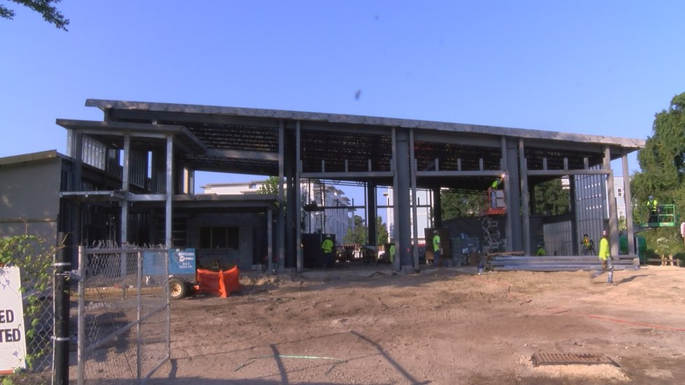 At over 10,000 square feet he says the new firehouse will have 11 sleeping rooms, a fitness...