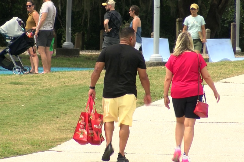 The Lowcountry Food Bank's Walk to Fight Hunger was held in North Charleston's Riverfront Park...