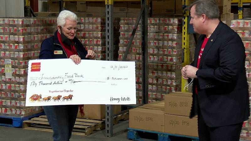 Wells Fargo is joining the fight against hunger in the Lowcountry. The financial services...