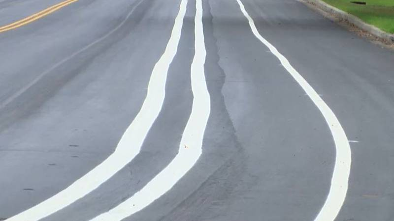 A month after lines were painted incorrectly on Henry Tecklenburg Drive in West Ashley, there...