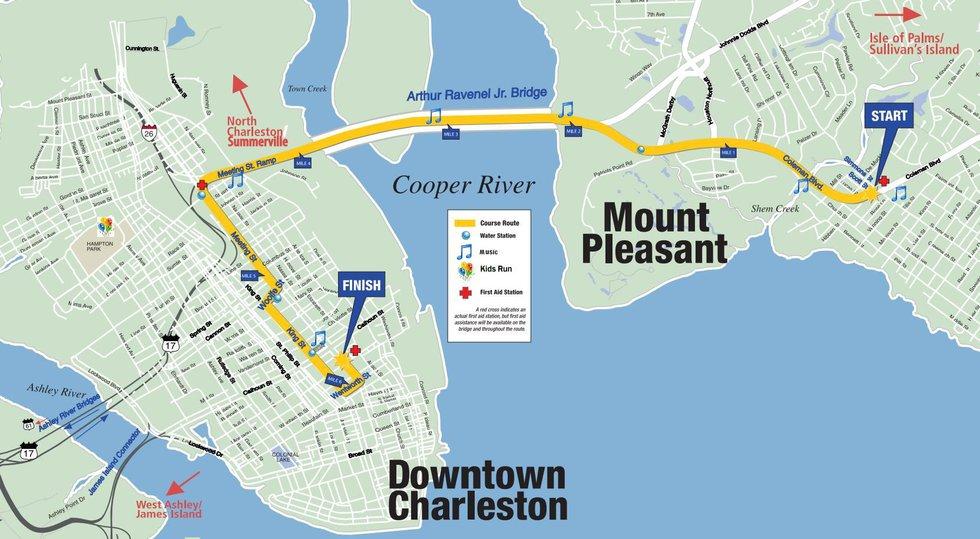 (Source: Cooper River Bridge Run)