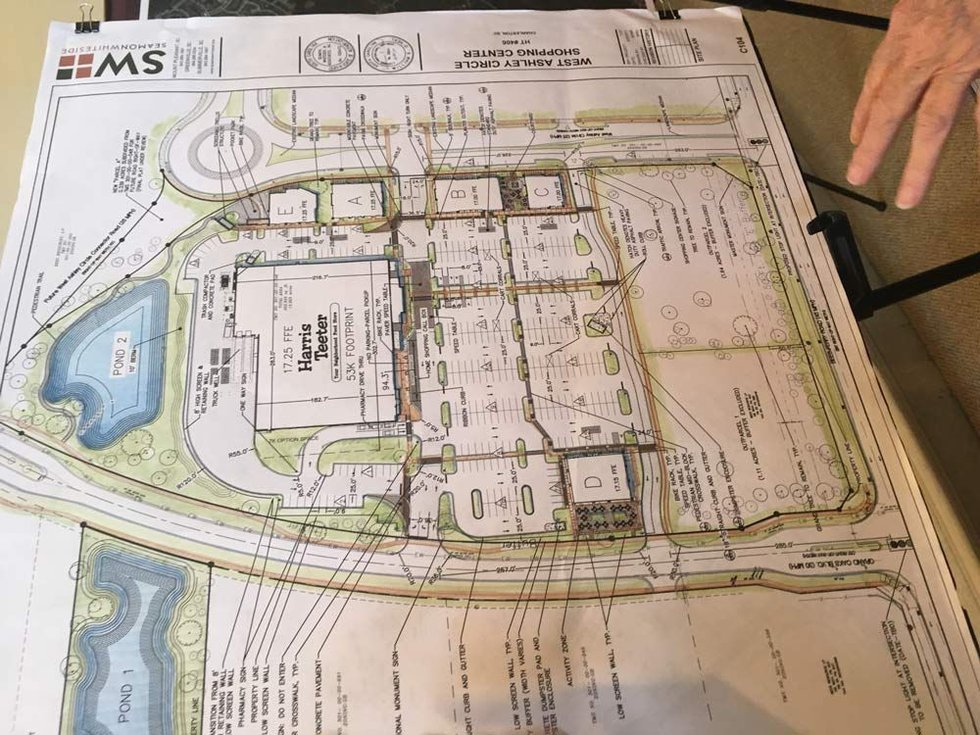 Proposed plans for the new store. (Source: Live 5)