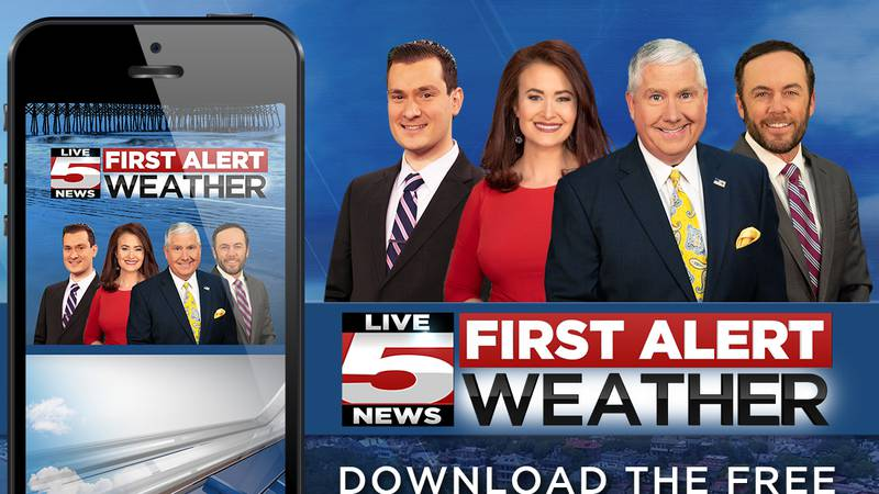 Download the Live 5 First Alert Weather App