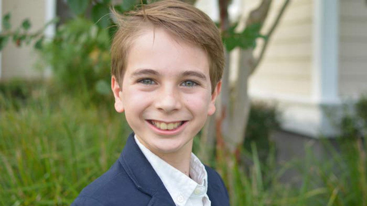 Nicholas Turco, a Mount Pleasant elementary school student, won a national writing and research...