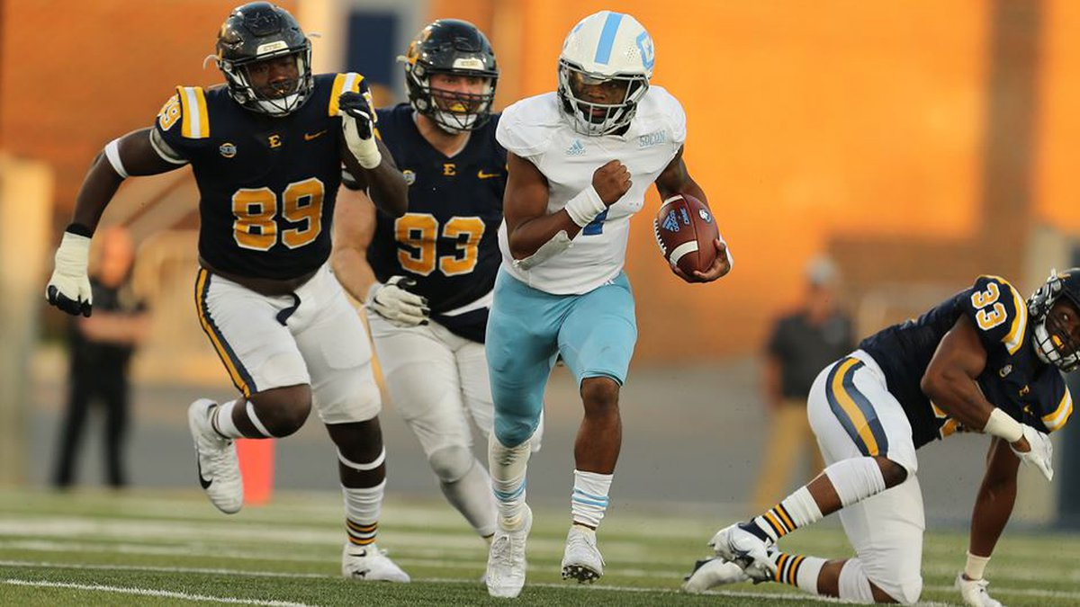 The Citadel dropped to 2-3 on the season with a loss to ETSU on Saturday