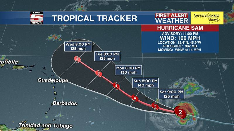 The latest data shows that the system will move toward the west or west-northwest with a...