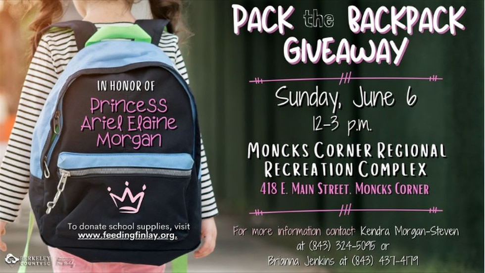 """""""Pack the Backpack"""" Giveaway"""