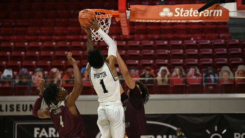 After falling behind at halftime and playing shorthanded, Charleston Southern's comeback bid...