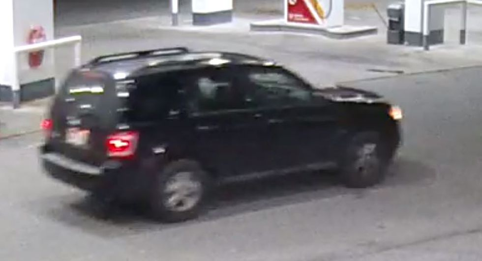 Another picture of the suspects' vehicle.