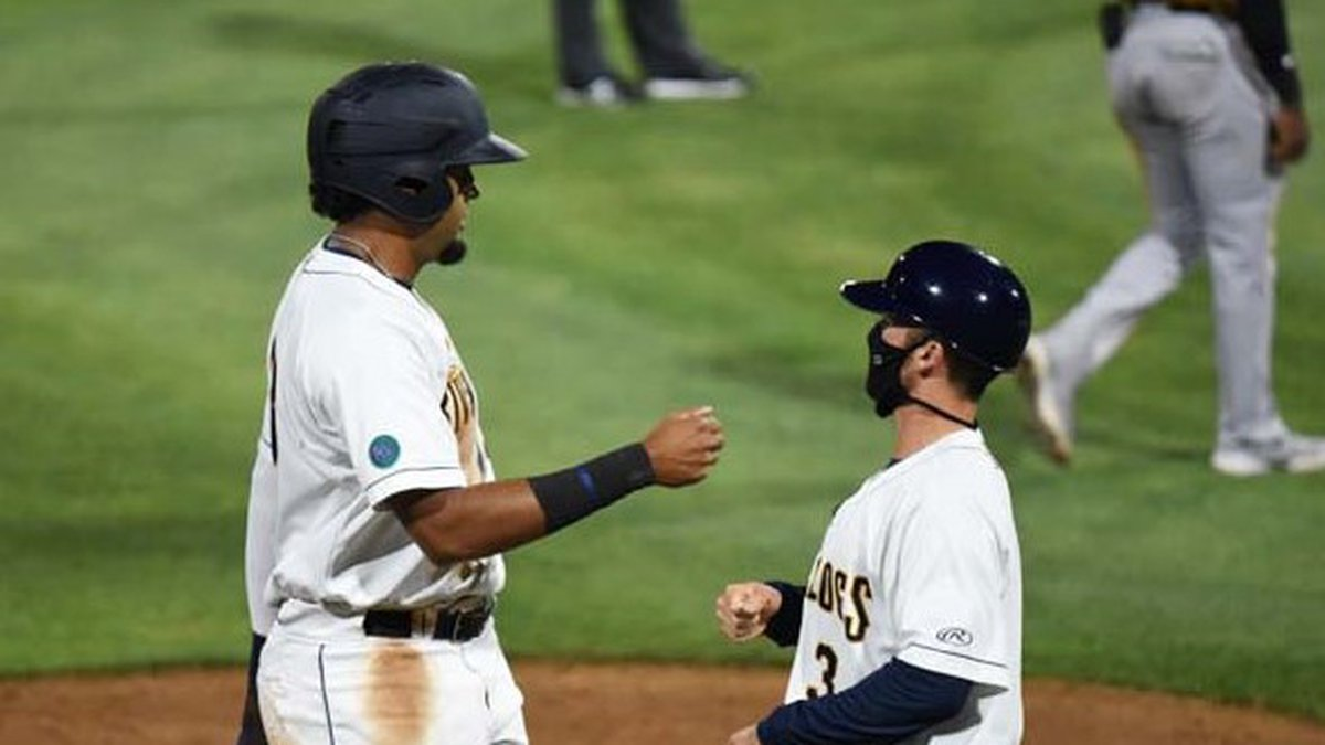 RiverDogs OF Diego Infante was named the Low-A East league MVP on Friday