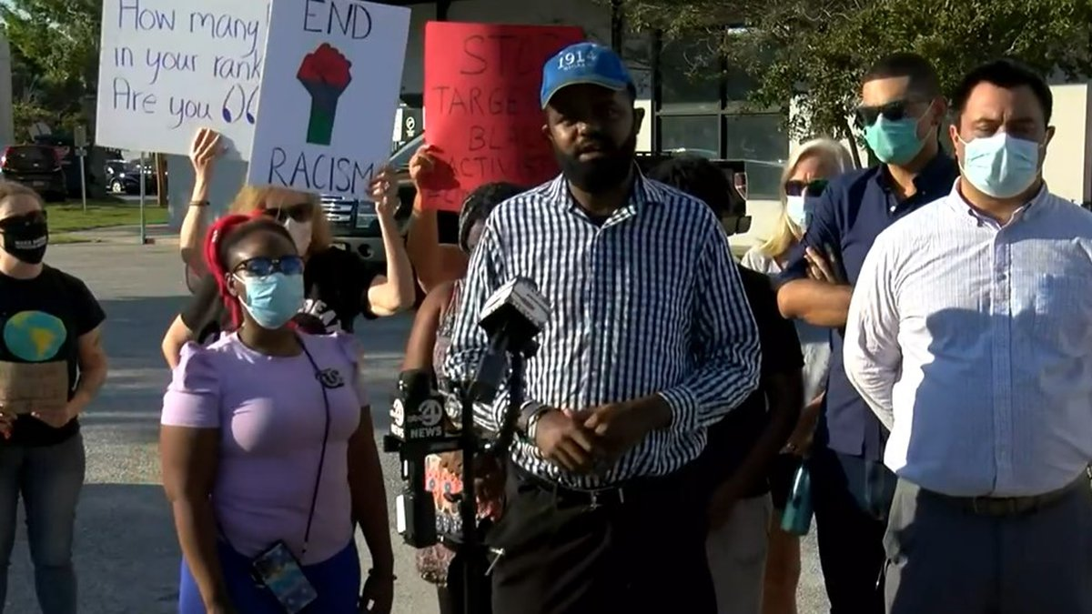 The president of the activist group Stand As One said he wants answers from Charleston County's...