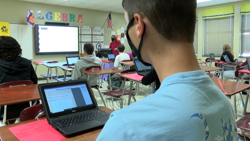 Thousands of Dorchester District Two students returned in person Monday for the first time in...