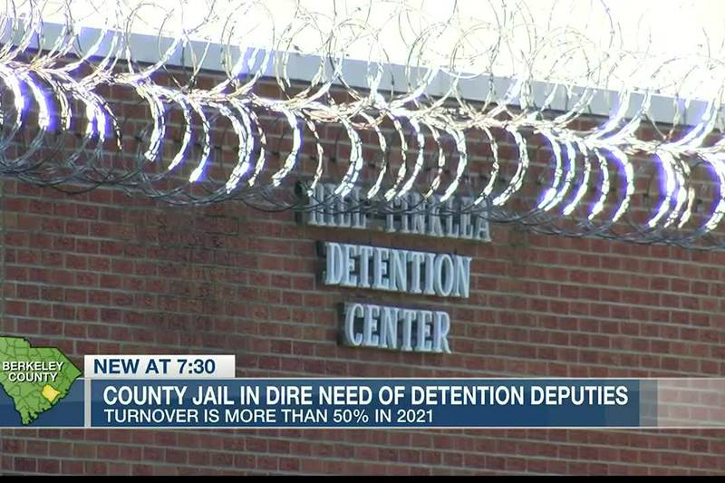 VIDEO: Berkeley Co. jail in dire need of detention officers