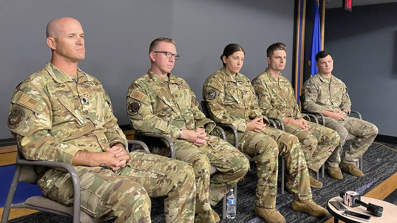 Men and women from Joint Base Charleston's 437 airlift wing spoke Thursday morning about what...