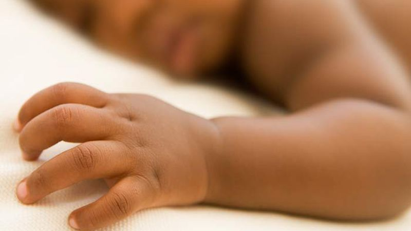 The infant girl, born Saturday weighing 7 pounds, 1 ounce, was surrendered under Daniel's Law....