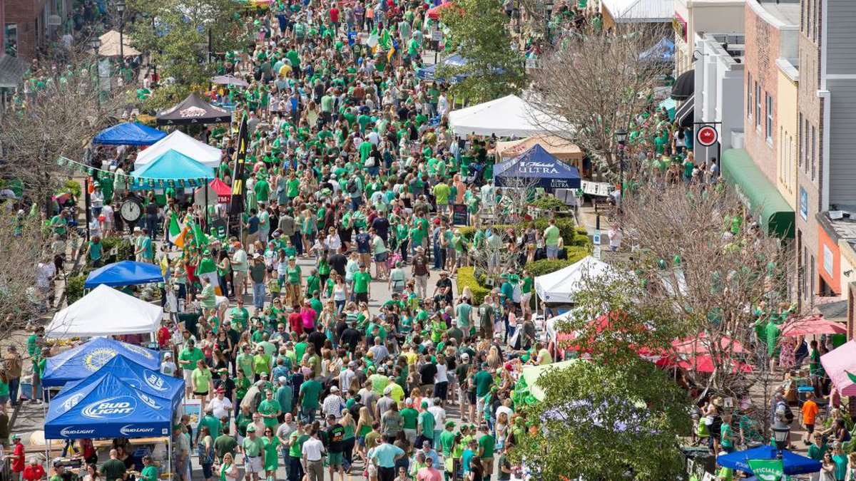 This year's St. Patrick's Day Block Party and Parade is set for Saturday. (Source: Ryan Johnson)